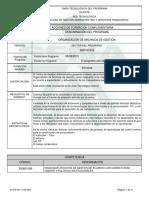 Complementario Organización Archivo de Gestión