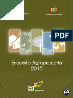 ENCUESTA AGROPECUARIA BOLIVIA