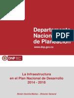 Infraestructura en el Plan Nacional de Desarrollo 2014- 2018.pdf