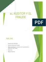 Informes Cr. Público NIA 240