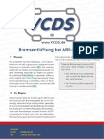 ABS Bremsentlueftung