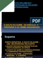 o Golfo Da Guiné Da Energia à Pirataria e Ao Crime Organizado