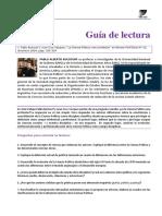 Guia de Preguntas. Ciencias Politcas UBA