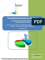Resultats Du Troisieme Sondage Du BRIDES_ VOL I_sur Les PRESIDENTILLES_cor