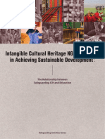 Intangible Cultural Heritage NGOs' Strategy in Achieving Sustainable Development