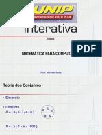 Unid i Matematica Para Computação