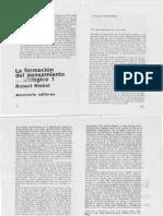 Formación del pensamiento Sociológico Nisbet.PDF