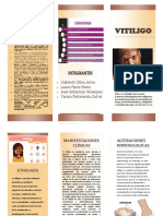 Folleto Vitiligo Inmuno