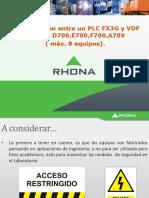 Com. Plc Fx3 Con Vdf Series d,e, f, A Mc Protocol