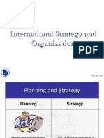 Docsity International Strategy and Organization International Business Lecture Slides