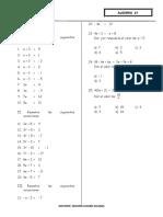 Algebra separata