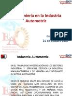 La Ingenieria en La Industria Automotriz