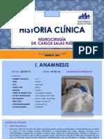 Historia Clínica - Dr. SALAS