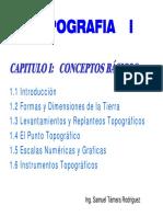 UNID. 1 Topografia I