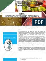 lipidos sintéticos
