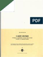 O Agente Infiltrado. O Problema da Legitimidade no Processo Penal do estado de Direito e na Experiência Brasileira.pdf