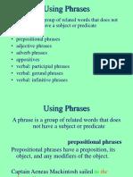 Using Phrases