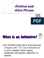 infinitives.ppt