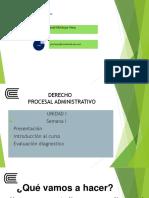 Generalidades Del Derecho Procesal Administrativo (1)