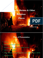 Attacks on Shrines & Other Religious