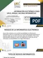 Riesgos de La Información Electrónica Como Virus, Ataque, Vacunas Informáticas