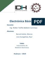 Equipos para medición de electrónicos