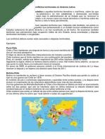 Los Conflictos Territoriales en América Latina