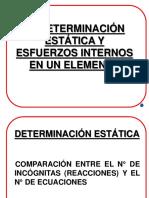 Det. Estatica y Esf. Internos
