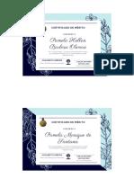 Diplomas de participação