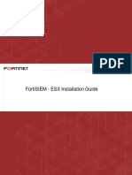 Fortisiem Esx Installation Guide