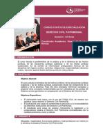 Temas de Derecho Civil Patrimonial
