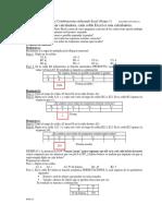 Cominaciones Excel