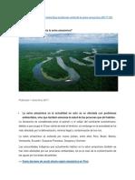 Problemas de La Selva Amazonia