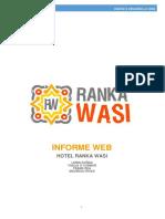 Informe Web - Ranka Wasi