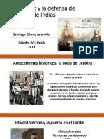 Unidad 3 Blas de Lezo y La Defensa de Cartagena - Santiago Gómez J