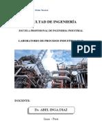 Laboratorio Procesos Industriales II.