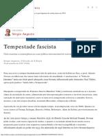 Tempestade Fascista - Cultura - Estadão