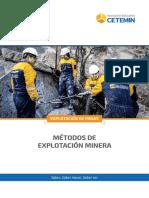 04 - Metodos de Explotacion Minera