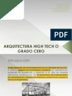 Presentacion Arquitectura High Tech