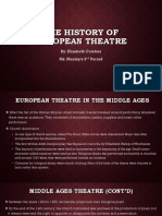 Elizabeth Comtois - History of European Theater.