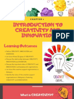 Chapter 1 - Introduction to Creativity and Innovation (1)