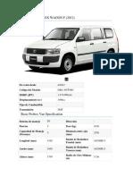 01 Auto Toyota Probox Wagon f