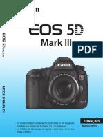5D Mk3 Manuel Instruction EOS 5D Mark III