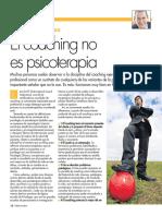 Coaching No Es Psicoterapia