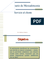 Mercadotecniapresentacion Servicio Al Cliente