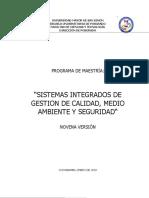 Pry. Maestria Sistemas i. 9 Version.