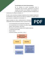 Mecanismos Biológicos de Control Homeostáticos