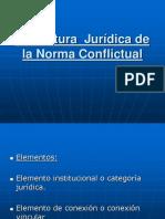 4.-Estructura Juridica de La Norma Conflictual