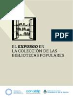 El expurgo en la colección de las bibliotecas populares