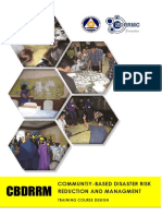 CBDRRM Training Course Design